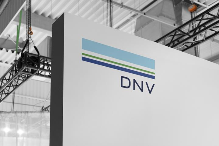 DNV exhibition stand