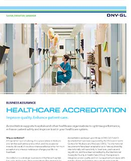 Healthcare Accreditation