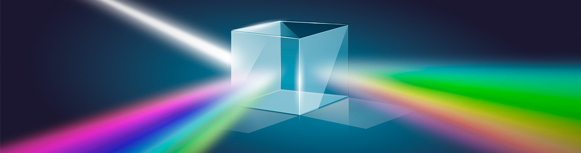 Light split in cube Lumina news